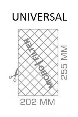 MICROFILTRO UNIVERSAL PARA ASPIRADOR Referência 5090